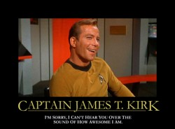 Awesome Capt. Kirk
