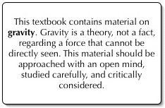 Gravity is a theory